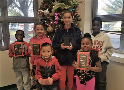 November Kindle Fire Winners