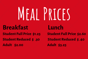 2019-20 meal prices