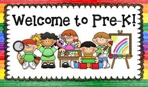 Welcome to Pre-k Sign
