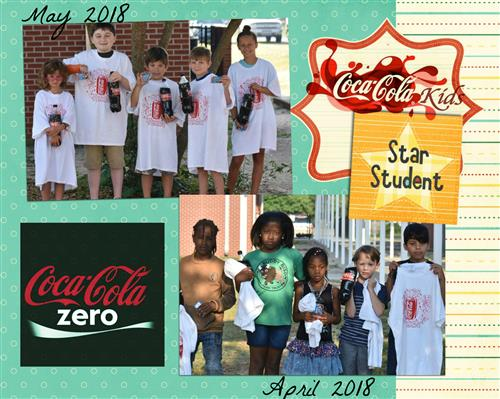 April & May 2018 CocaCola Kids