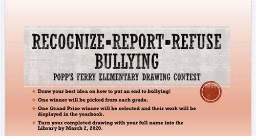 ANTI-Bullying Drawing Contest
