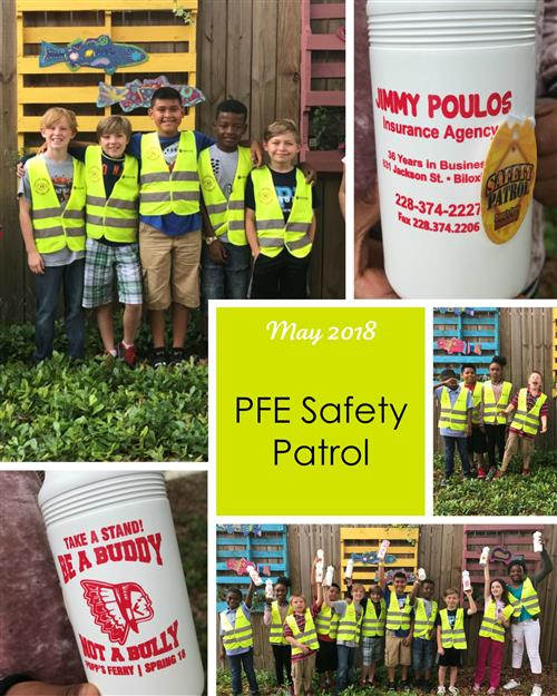 May 2018 Safety Patrol