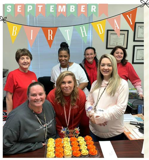September Staff Birthdays