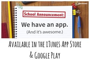 We have an app. available in the ITunes App Store & Google Play  graphic