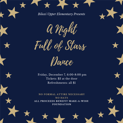 Biloxi Upper Winter Dance THIS FRIDAY!!!