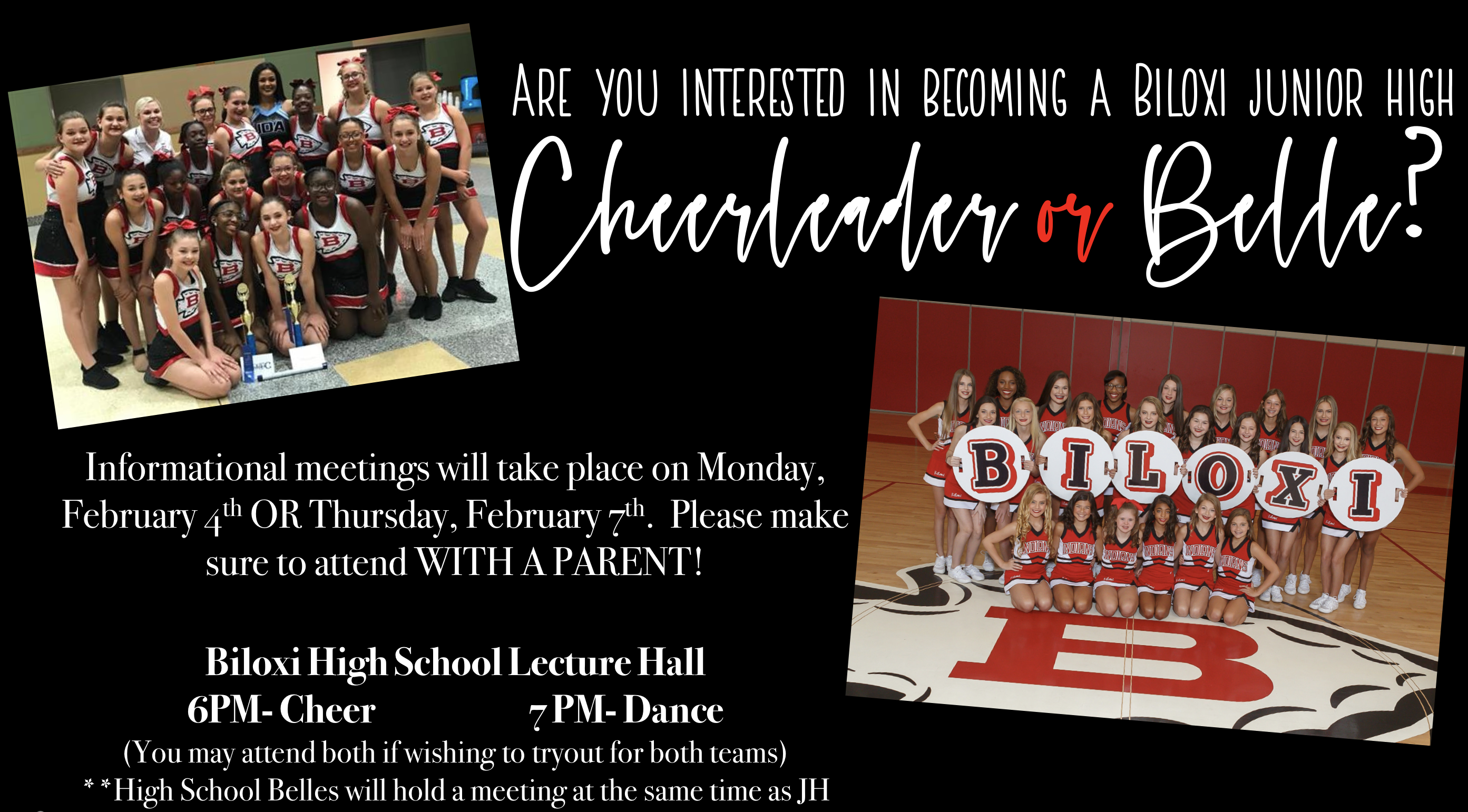 Bjhs Cheer Welcome