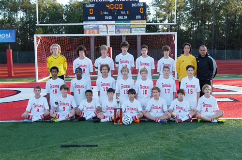 Bjhs Soccer District Champs