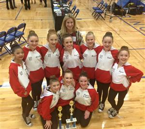 Bjhs Dance Cheer Teams Compete At State Competition