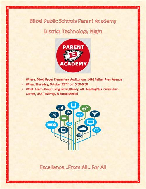 District Wide Tech Night Parent Academy