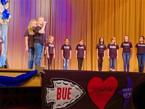 BUE Show Choir at March of Dimes presentation