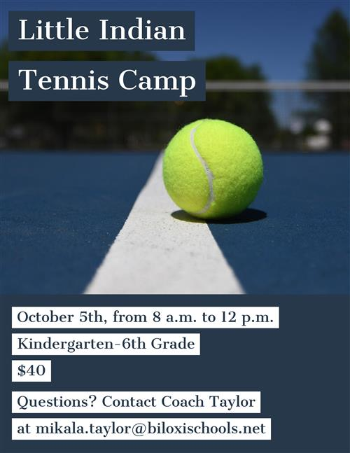 Little Indian Tennis Camp