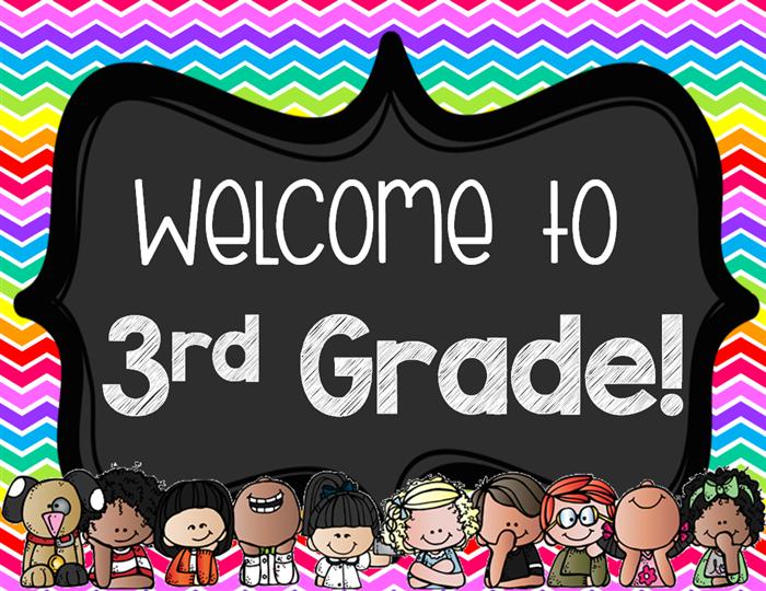 Third Grade / Welcome