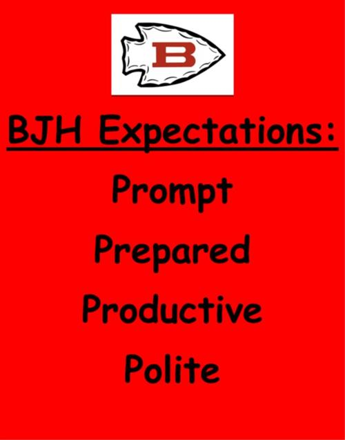 BJH Expectations---the 4 P's