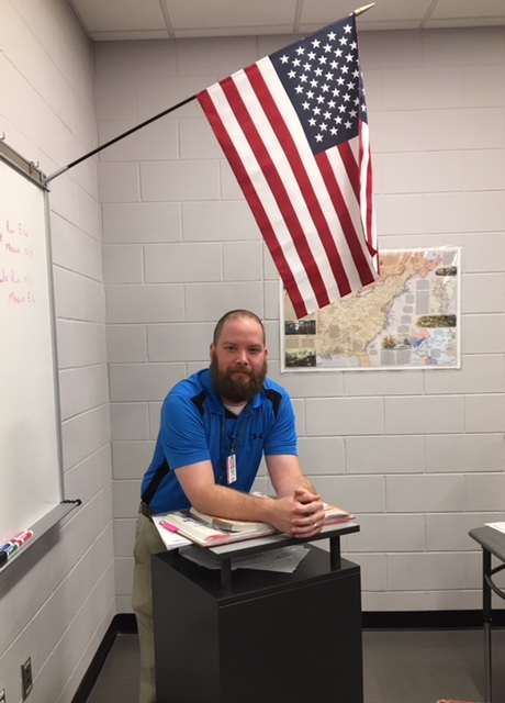 Mr. Dearing---January Teacher of the Month