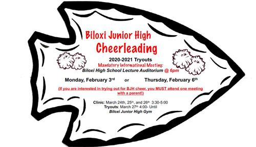 Bjh Cheer Tryout Information