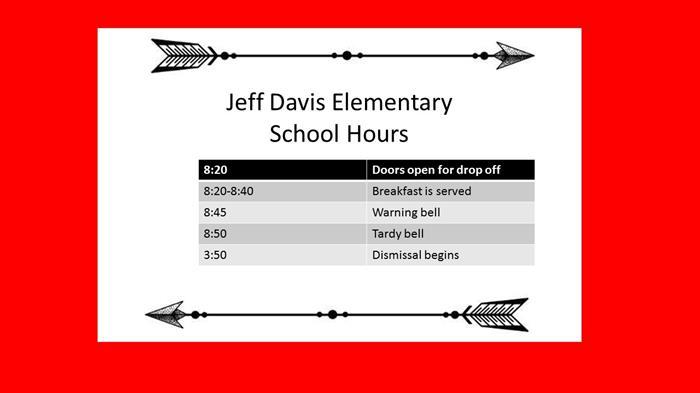 Jeff Davis Elementary School / Homepage
