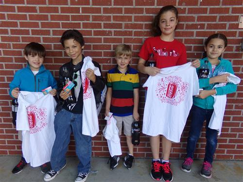 October Coca Cola Star Students