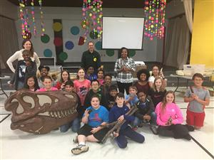 5th Grade Dinosaur Exhibit